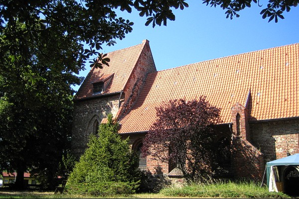 Backsteinkirche in Koserow